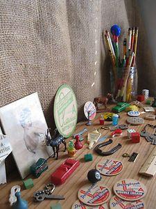 Vintage Junk Drawer Lot