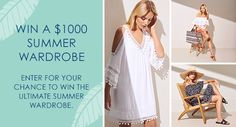 Win a $1000 Summer Wardrobe from Seed Heritage