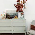 IKEA hack - dowel dresser from TARVA chest
