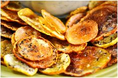 Oven-Baked Squash Chips: tried this....after 30 min they were burnt. Will try again at a much lower temp.