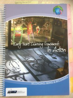 EYLF in Action: A beautiful, visual resource book that integrates the early years learning framework with the Australian Curriculum. Available at www.ais.wa.edu.au