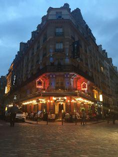 Barrio latino , París .