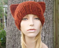 Unleash the animal within with these cute animal hat knitting patterns found on Craftsy, from lions and tigers and bears (oh my!) to foxes and owls!