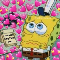 New Memes Heart Bob Esponja Ideas Spongebob Memes, Cartoon Memes, Why I Love You, Just For You, New Memes, Funny Memes, Sapo Meme, Sad Wallpaper, Disney Wallpaper