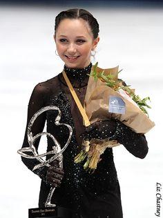 Elizaveta Tuktamysheva; Trophee Bompard 2011