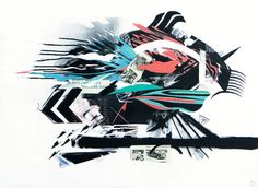 "Saatchi Online Artist justin bauer; Painting, ""beast of balcony"" #art"