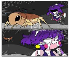 Roach-Kun use fly ! Super effective • check my art acc Blue Mild  ⚠❌Do not Copying,Tracing,Stealing,Edit and Remove my watermark!! This is my hardwork so please appreciate it !! ❌⚠ Repost are 100% allowed,u dont need to give a credit but i appreciate  it alot if u do • YouTube : LazyAnimation23 Fnaf Amino : Sisterlolcation SL Amino : Sisterlolcation Deviantart : Chocoumild [[Tags]] #fnaf #fnaf2 #fnaf3 #fnaf4 #fnafworld #fnafsisterlocation #sisterlocation #baby #ballora #funtimefox...