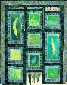 Greensleeves by Hilary Scanlon at Quilts Kingston.  Permanent collection, National Quilt Museum, Paducah