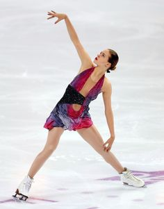 Anna Pogorilaya of Russia. Currently ranked 2nd in the world going into the 2017-18 season. She amazingly surpassed nearly all of the other great Russian ladies when she had a stellar last few years. She had a disastrous free skate at the 2017 World Championships and was left off the podium altogether. Hoping she can put that behind her for this season.