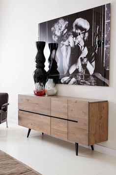 Een dressoir bepaalt het uiterlijk van jouw woonkamer.