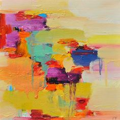 Check out: the stunning paintings of Toronto-based artist Yangyang Pang . So many beautiful colors! (See also: shop & Facebook )