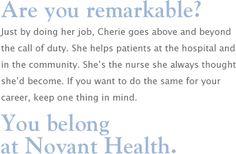 Novant Health Healthcare Jobs
