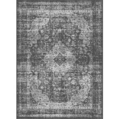 Alise Eternity Charcoal Transitional Area Rug (5'3 x 7'3) | Overstock.com Shopping - The Best Deals on 5x8 - 6x9 Rugs