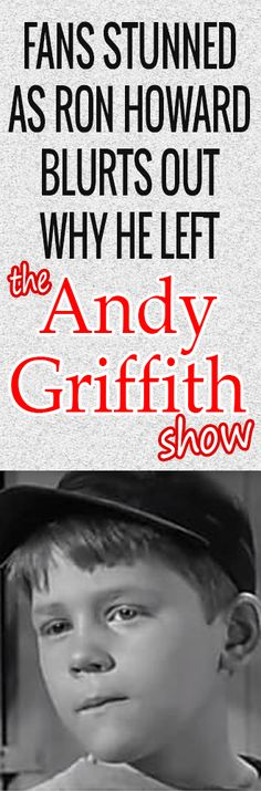 Ron Howard Kept This Hidden Throughout the Filming of 'The Andy Griffith Show'