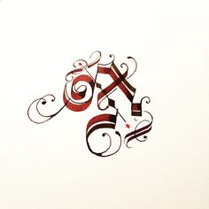 A on Behance Graffiti Lettering, Lettering Design, Hand Lettering, Gothic Text, Henna Tattoo Designs Simple, Calligraphy Words, Typography Alphabet, Beautiful Fonts, Illuminated Letters