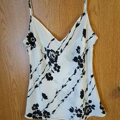 White House Black Market tank top White House  Black Market tank top. Worn but in excellent condition. Very cute. It is see through. White House Black Market Tops Crop Tops