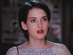 My #makeup inspiration for day 1 of #2013 Winona Ryder in Reality Bites / clean, simple