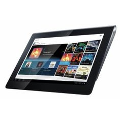 Sony Tablet S Android tablet. Announced Aug Features TFT display, Nvidia Tegra 2 chipset, 5 MP primary camera, 32 GB storage, 1000 MB RAM. Sony Xperia, Cool Gadgets, Latest Gadgets, New Toys, Screen Protector, A Table, Wi Fi, Consumer Electronics, Madrid