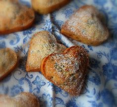 Queen Cakes--the delightful English Kitchen.  Little cakes with a history...