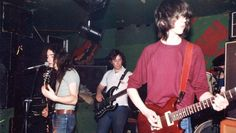 'Exorian' play the Burns Howff, Glasgow in 1982.