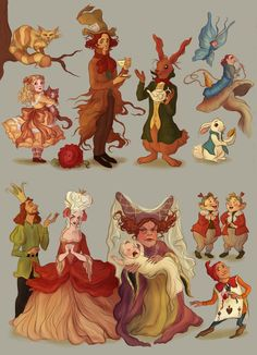 alice wonderland characters - Yahoo Image Search Results