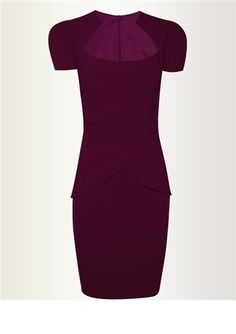 Sophie Purple | This is the ultimate body-con dress. http://www.lipstickboutique.co.uk/