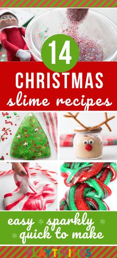 14 Surprising Christmas Slime Recipes For Kids – PLAYTIVITIES Fluffy slime recipes, Christmas tree slime ideas, glitter slimes and many in between. So, here it is my 14 best Christmas slime recipes for kids I want to share with you today. Christmas Activities For Families, Christmas Activities For Kids, Holiday Crafts For Kids, Family Activities, Kids Crafts, Homemade Christmas, Diy Christmas Gifts, Kids Christmas, Fluffy Slime Recipe