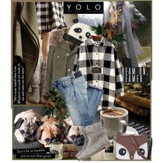 COLDER by firefox123la on Polyvore featuring мода, Citizens of Humanity, Isabel Marant and BRONTE