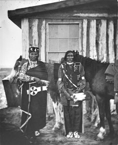 Cheyennes Dull Knife and Bobtail Horse, 1879