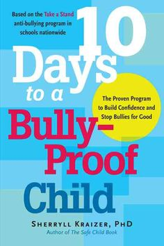 Bully-Proof Your Child offers strategies on the latest forms of bullying, like cyber-bullying via instant message and networking sites. With anecdotes throughout, it book also teaches how to successfully approach another parent or a school about bullying. Teaching Character, Character Education, Anti Bullying Programs, It Netflix, Books About Bullying, Stop Bullying, Cyber Bullying, Bullying Prevention, Fiction And Nonfiction