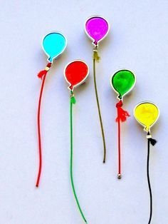 Handmade BALOONS by KORMENTZACREATIONS on Etsy