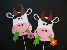 Farm Crafts, Preschool Crafts, Kids Crafts, Animal Crafts For Kids, Diy For Kids, Cow Appreciation Day, Cowgirl Baby Showers, Cow Craft, Toilet Paper Art