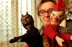 Henrik Kemény – Hungarian puppeteer with Vitéz László figures Punch And Judy, Retro Kids, Thats The Way, Hungary, Puppets, Masks, Costumes, Superhero, History