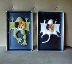 Cruelty-Free Knit Human and Creature Anatomy Specimens by Emily Stoneking