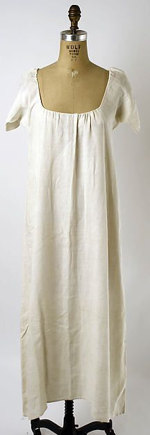 Chemise Date: third quarter 18th century Culture: French Medium: linen Dimensions: [no dimensions available] Credit Line: Gift of Mrs. Dudley Wadsworth, 1941 Accession Number: C.I.41.161.7
