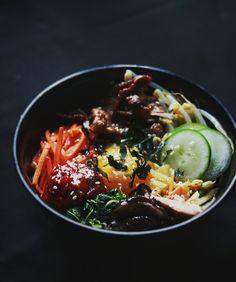 Korean Bibimbap (Mixed Rice with Vegetables)
