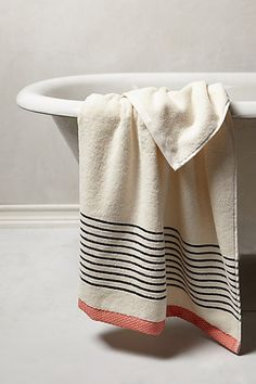 2 bath towels 2 hand towels 2 wash clothes Bay Shore Towel Collection #anthropologie