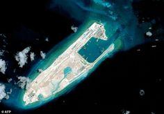 Beijing has built a 3,000-metre (9,840 feet) runway on Yongshu Reef, also known as Fiery Cross reef