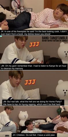 The little white Baer thoo kyaaaa I can't take them seriously when I see a cute little teddy bear in their room