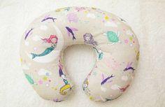 Mermaid Baby Showers, Baby Mermaid, Mermaid Nursery, Girl Nursery, Nursery Decor, Ember Rose, Boppy Cover, Nursery Modern, Nursing Pillow