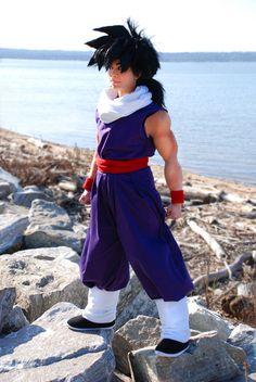 Son Gohan from Dragon Ball Z.