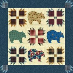 Bear's Paw Quilt Pattern