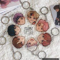 Cute Bts keychains