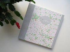 Album photo de naissance personnalisé en papier japonais
