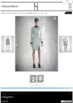 UNIQUENESS // Il lancio di un nuovo brand, di una nuova idea di intendere, presentare e vendere la moda. Per il progetto di Alessandra Facchinetti e Pinko, dodicitrenta sviluppa un sito e una strategia web in grado di comunicare al meglio il concept Uniqueness.