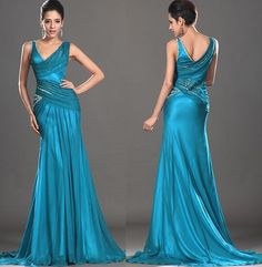 Custom Made New Stylish Two Shoulder Evening Dress Prom Gown Evening Dresses, Prom Dresses, Formal Dresses, Dress Prom, Bride Dresses, Crepes, Gown Gallery, Vintage Gowns, Gowns Online