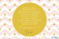 invitation anniversaire gratuite