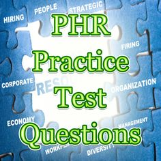 If you're looking to be in the human resources field, be sure to check out these free Professional in Human Resources (PHR) exam practice questions. These PHR practice questions will get you on the right track to getting a high score on the PHR exam. #phr #humanresources