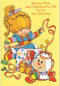 cartoons party Rainbow Brite - Rainbow Brite R - Best 90s Cartoons, Funny Cartoons, Nostalgia Art, Dibujos Cute, Old Anime, Rainbow Brite, 80s Kids, Vintage Cartoon, Birthday Images