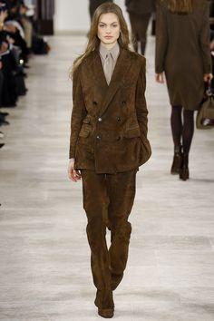 Ralph Lauren Fall 2016 Ready-to-Wear Fashion Show - Annika Krijt